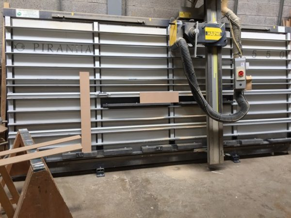 Used Harwi Piranha Vertical Panel Saw