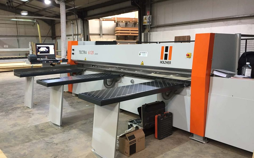 Two Bespoke Fitout companies install HolzHer Tectra 6120 Beamsaws