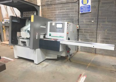 New Weinig Cube Plus Automatic 4 sided planer exceeds customers requirements.