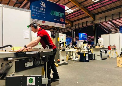 High-Tech Machinery are proud sponsors of Ireland Skills Live
