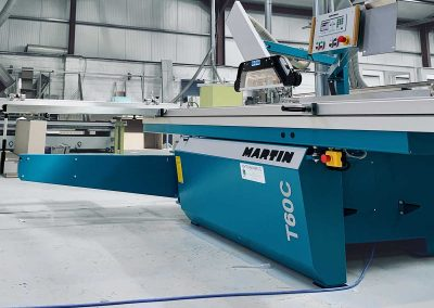 Precision at its finest! Nice spec Martin T60C panel saw delivered and installed